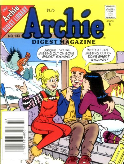 Cover for Archie Comics Digest (Archie, 1973 series) #133