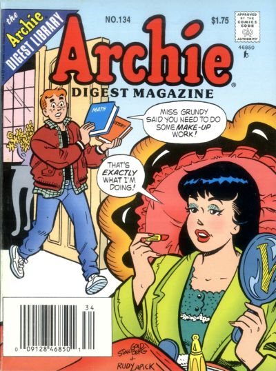 Cover for Archie Comics Digest (1973 series) #134