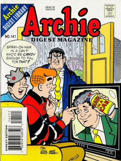 Cover for Archie Comics Digest (Archie, 1973 series) #141