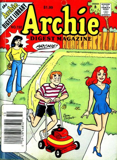 Cover for Archie Comics Digest (Archie, 1973 series) #150