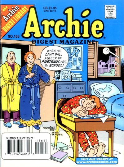 Cover for Archie Comics Digest (Archie, 1973 series) #156