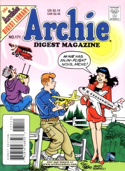 Cover for Archie Comics Digest (Archie, 1973 series) #171