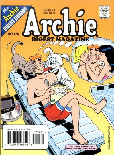 Cover for Archie Comics Digest (Archie, 1973 series) #174