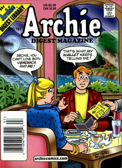 Cover for Archie Comics Digest (Archie, 1973 series) #197