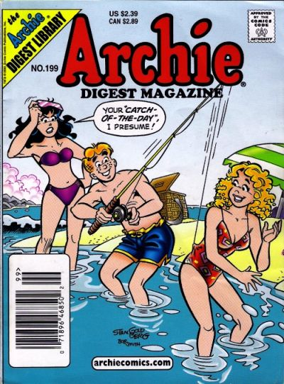 Cover for Archie Comics Digest (Archie, 1973 series) #199