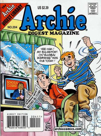 Cover for Archie Comics Digest (1973 series) #204