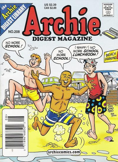 Cover for Archie Comics Digest (Archie, 1973 series) #208