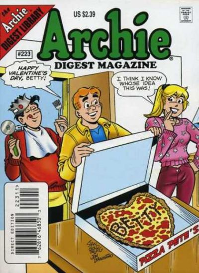 Cover for Archie Comics Digest (Archie, 1973 series) #223