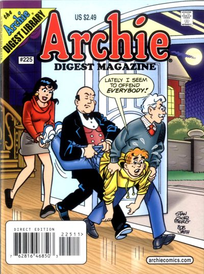 Cover for Archie Comics Digest (1973 series) #225