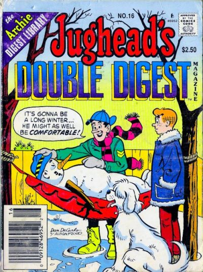 Cover for Jughead's Double Digest (Archie, 1989 series) #16