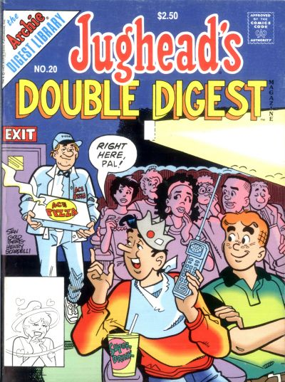 Cover for Jughead&#39;s Double Digest (1989 series) #20 [newsstand]