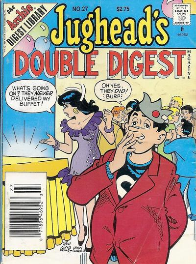 Cover for Jughead's Double Digest (Archie, 1989 series) #27