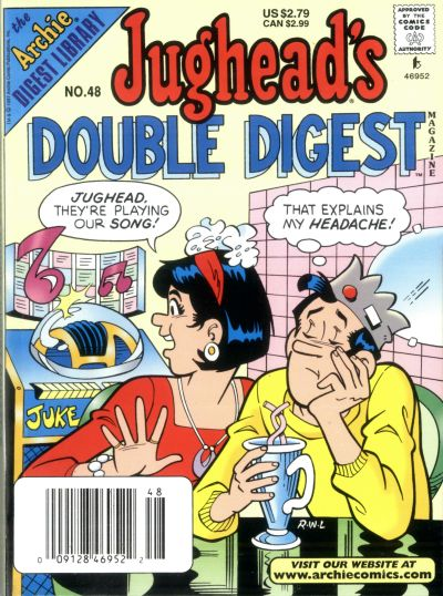 Cover for Jughead's Double Digest (Archie, 1989 series) #48 [Direct Edition]