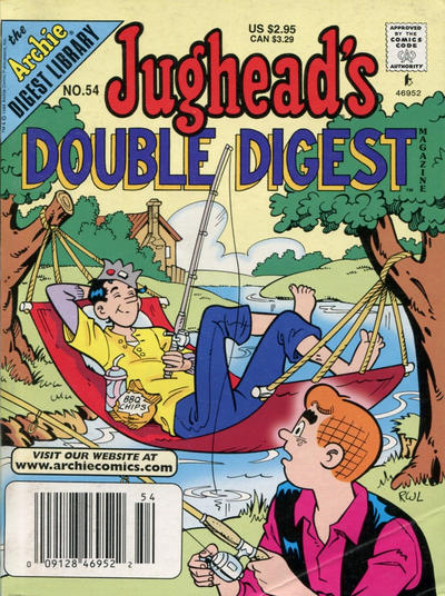 Cover for Jughead's Double Digest (Archie, 1989 series) #54