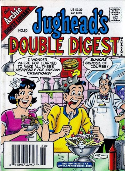Cover for Jughead's Double Digest (Archie, 1989 series) #80