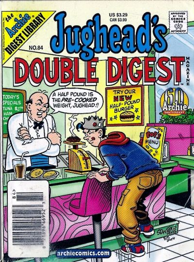 Cover for Jughead's Double Digest (Archie, 1989 series) #84