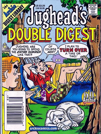 Cover for Jughead's Double Digest (1989 series) #86