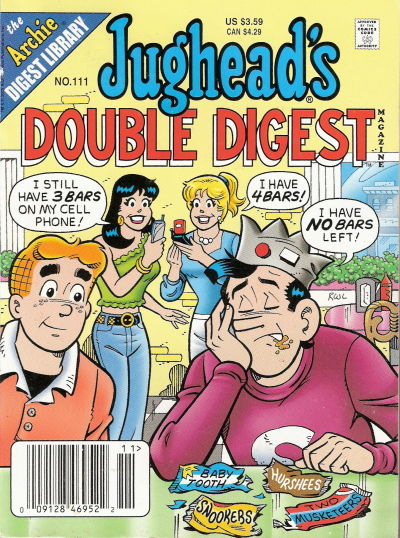 Cover for Jughead's Double Digest (Archie, 1989 series) #111