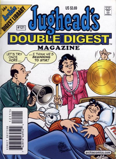 Cover for Jughead's Double Digest (Archie, 1989 series) #121