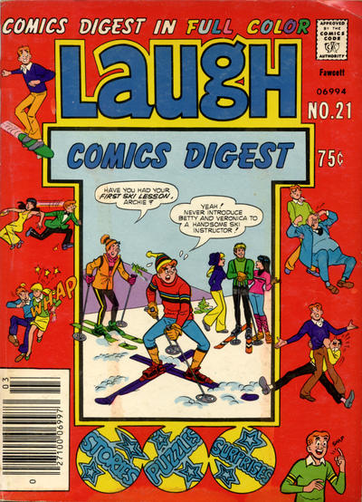 Cover for Laugh Comics Digest (Archie, 1974 series) #21