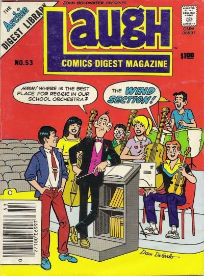 Cover for Laugh Comics Digest (Archie, 1974 series) #53