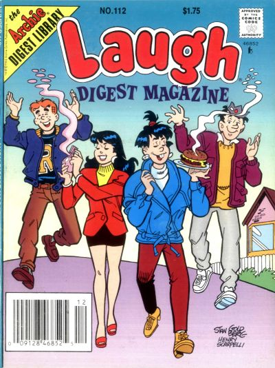 Cover for Laugh Comics Digest (Archie, 1974 series) #112