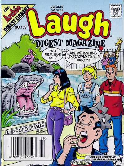 Cover for Laugh Comics Digest (Archie, 1974 series) #169