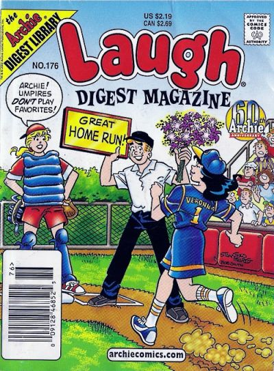 Cover for Laugh Comics Digest (Archie, 1974 series) #176