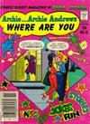 Cover for Archie... Archie Andrews Where Are You? Comics Digest Magazine (Archie, 1977 series) #12