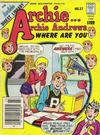 Archie... Archie Andrews Where Are You? Comics Digest Magazine #27