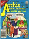Archie... Archie Andrews Where Are You? Comics Digest Magazine #33