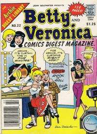 Cover Thumbnail for Betty and Veronica Comic Digest Magazine (Archie, 1983 series) #22