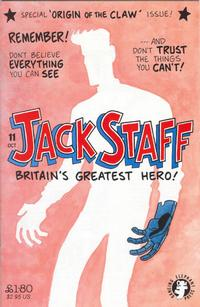 Cover Thumbnail for Jack Staff (Dancing Elephant Press, 2000 series) #11
