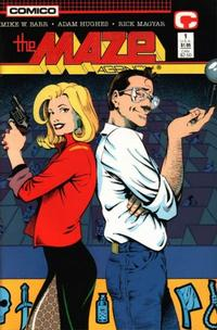 Cover for The Maze Agency (Comico, 1988 series) #1