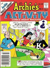 Cover Thumbnail for Archie's Activity Comics Digest Magazine (Archie, 1985 series) #3