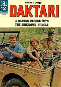 Cover Thumbnail for Daktari (Dell, 1967 series) #3