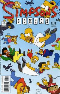 Cover Thumbnail for Simpsons Comics (Bongo, 1993 series) #118