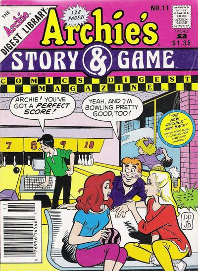 Cover for Archie's Story & Game Digest Magazine (1986 series) #11 [Direct]