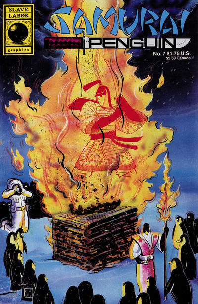 Cover for Samurai Penguin (1986 series) #7