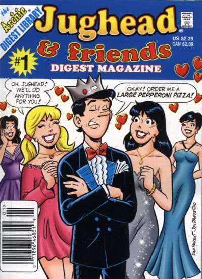 Cover for Jughead &amp; Friends Digest Magazine (2005 series) #1
