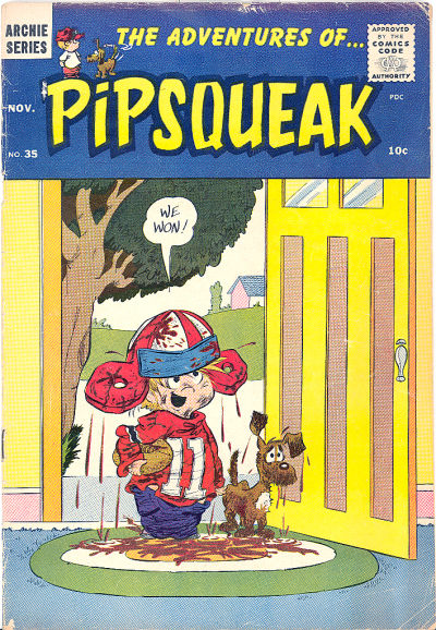 Cover for The Adventures of Pipsqueak (Archie, 1959 series) #35