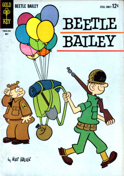 Cover for Beetle Bailey (Western, 1962 series) #45