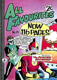 Cover Thumbnail for All Favourites Comic (K. G. Murray, 1960 series) #19