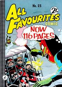 Cover Thumbnail for All Favourites Comic (K. G. Murray, 1960 series) #23