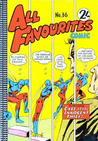 Cover Thumbnail for All Favourites Comic (K. G. Murray, 1960 series) #36