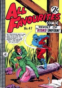 Cover Thumbnail for All Favourites Comic (K. G. Murray, 1960 series) #47