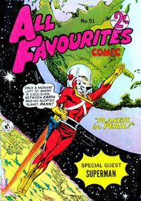 Cover Thumbnail for All Favourites Comic (K. G. Murray, 1960 series) #51