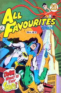 Cover Thumbnail for All Favourites Comic (K. G. Murray, 1960 series) #67