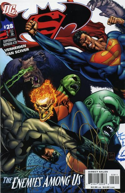 Cover for Superman / Batman (DC, 2003 series) #28