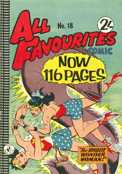 Cover for All Favourites Comic (K. G. Murray, 1960 series) #18